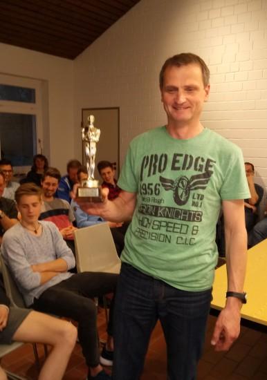"""""""OSKAR - der Beste des Jahres"""" für Andreas Sander"""
