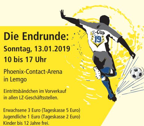TuS Brake organisiert LZ-Cup-Finale